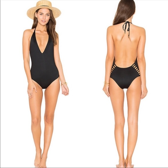 Vitamin A Other - Vitamin A Bianca One Piece Swimsuit Black cutouts